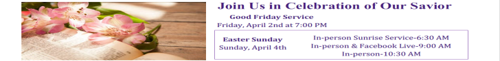 Easter 2021 Services